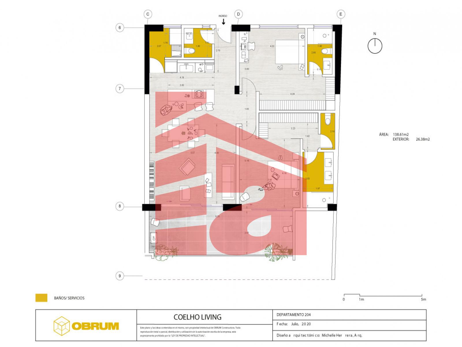 Cumbayá, Pichincha, 2 Habitaciones Habitaciones, ,2 BathroomsBathrooms,Coelho Living,Venta,1108